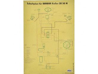 Schaltplan Farbposter SR50 N