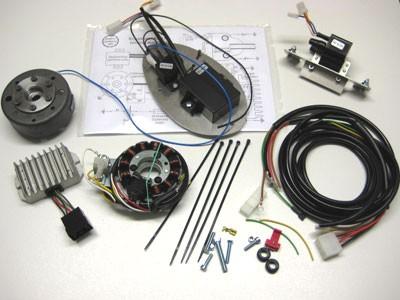 Lichtmagnetzündanlage 12V 150W passend für BK350 vollelektronisch
