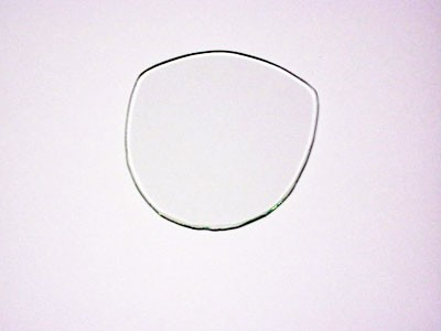 Tachoglas SR1, SR2 oval