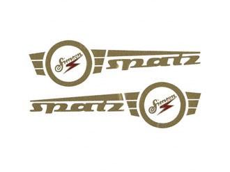 Aufklebersatz Tank Spatz im Original-Design