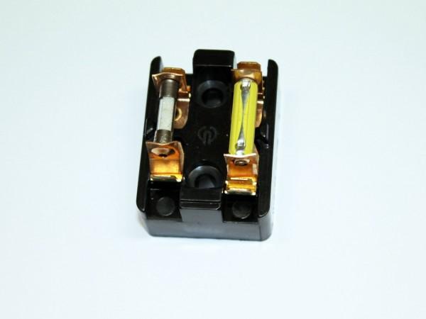 Sicherungsdose KR51/1, SR4-/... mit Sicherungen 4 A und 2 A