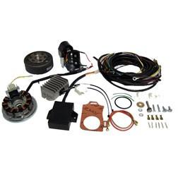 Lichtmagnetzündanlage mit Kabelbaum passend für AWO425 Sport 12V 150W vollelektronisch