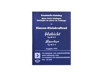 Ersatzteilekatalog Habicht SR4-4, Sperber SR4-3