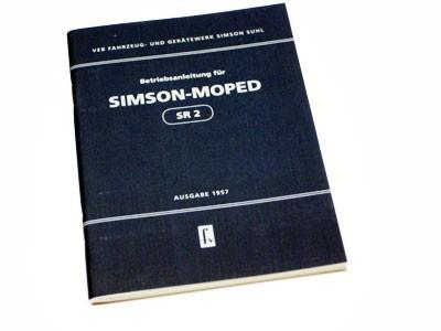 Betriebsanleitung SR2 Ausgabe 1957