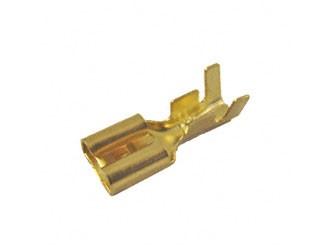 Flachsteckhülse 6,3 für Kabel 1,5 - 2,5mm