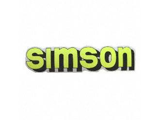 Klebefolie Simson-Tank neongelb