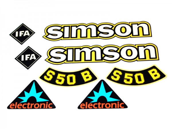 Dekorsatz S50 B Elektronik Gelb