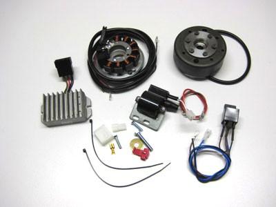 Lichtmagnetzündanlage 12V 100W ES125/150, TS125/150
