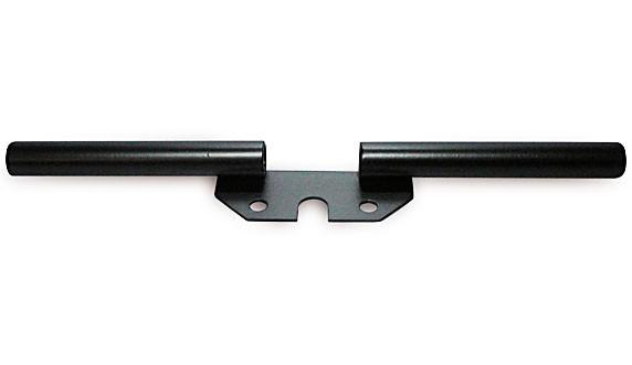 Blinkerträger hinten schwarz dick D15mm