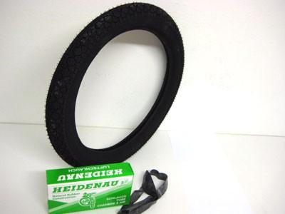 Reifen 2,75x16 Heidenau K36/1 mit Schlauch u.Felgenband