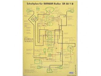 Schaltplan Farbposter SR50/1 B