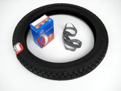 Reifen 2,75x16 Vee Rubber 015(wie K35) mit Schlauch & Felgenband