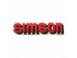 Klebefolie Simson-Tank rot