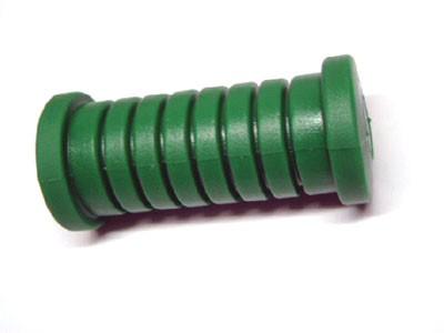 Fußrastengummi grün