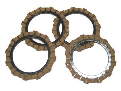 Kupplungsscheibe Nachbau im Set (4 Stück) Simson