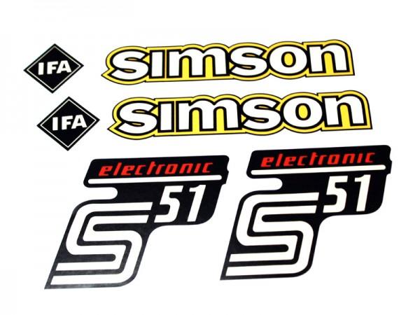 Dekorsatz S51 Elektronik altes Design