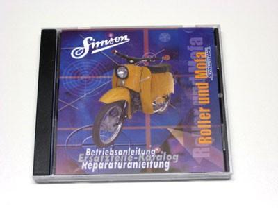 CD Simson Schwalbe Roller und Mofa