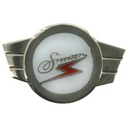 Pin Simson Kleinkrafträder silber