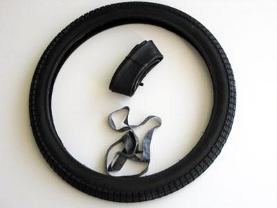 Reifen SR2 2,25x19 mit Schlauch und Felgenband