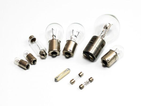 Set Ersatzglühlampen mit Bilux 6V 25/25W
