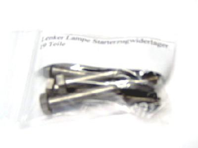 Schraubensatz Lenker, Lampe,Starterzugwiderlager S51