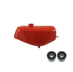 Simson Tank S51 rot lackiert mit Innenversiegelung