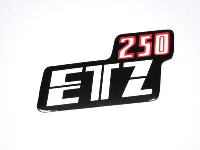 Klebefolie Seitendeckel Etz 250