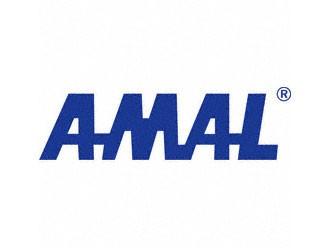 Klebefolie AMAL-LOGO blau 300mm breit