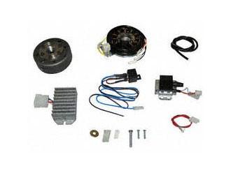 Lichtmagnetzündanlage 12V 100W passend für Motorroller IWL vollelektronisch
