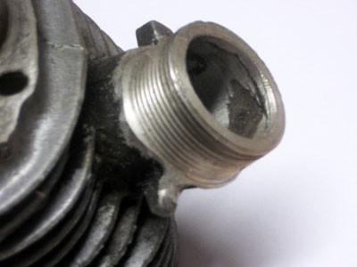 Simson Zylinder Gewinde Reparatur KR51/1, Star, Sperber