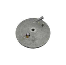 Bremsschild mit Bremshebel hinten Ausführung innenliegender Bremszug