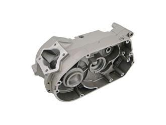 Motorgehäuse S70 50,1mm silbermetallic lackiert