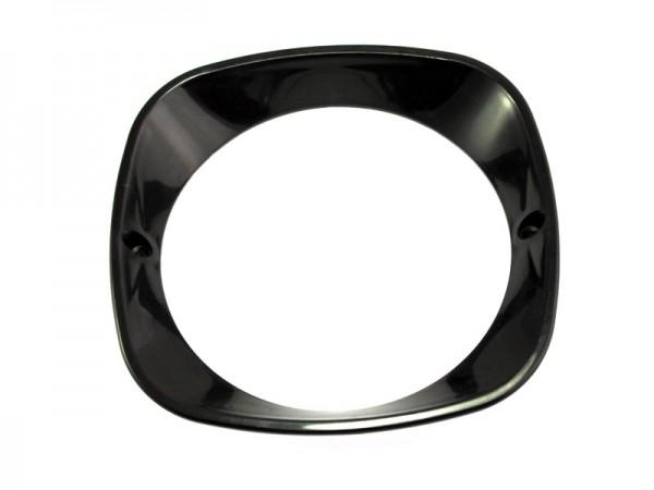 Scheinwerferring Schwalbe schwarz Plast
