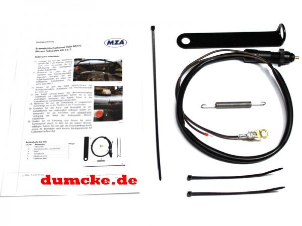 Umbausatz Bremslichtschalter Fußbremshebel Schwalbe KR51/2