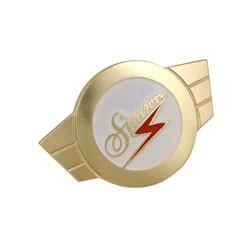 Warenzeichenplakette Alu goldfarben