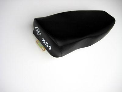 "Sitzbank S50, S51 glatt schwarz mit ""IFA S51"""