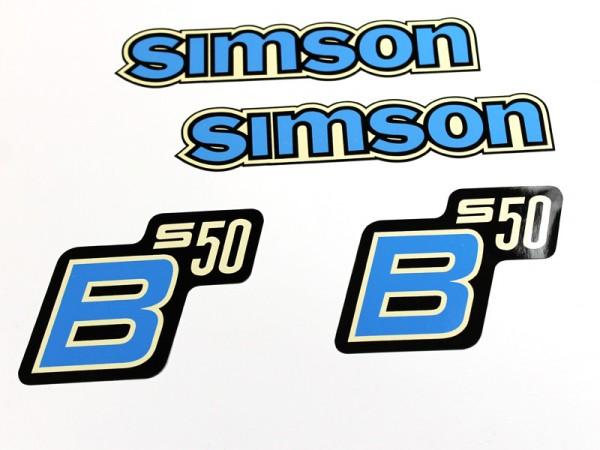 Dekorsatz S50 B Blau