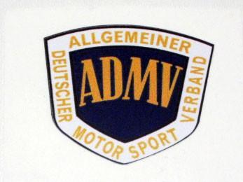 """Nostalgie Aufkleber """"ADMV"""" Logo klein"""