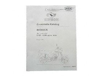 Simson Ersatzteile Katalog S53- S83 alpha. beta