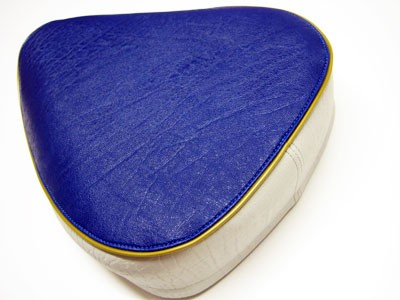 Einzelsitz blau/grau KR50 (ohne Bodenblech)