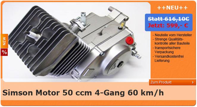 Motor S51 4 Gang