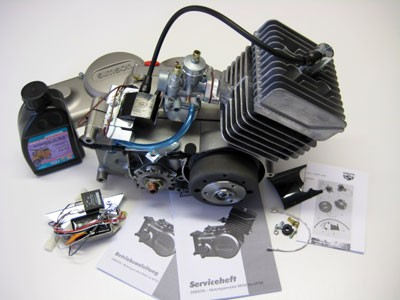 Motor S51 70ccm mit Vape - Zündung & BVF 16N1-11