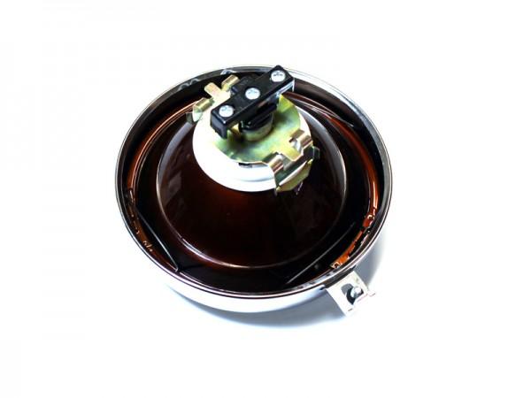 Scheinwerfereinsatz S50 mit Lampenring 12V H4 DDR Ruhla