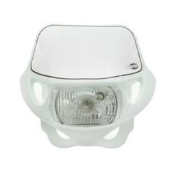 Lampenmaske Acerbis mit Scheinwerfer weiß