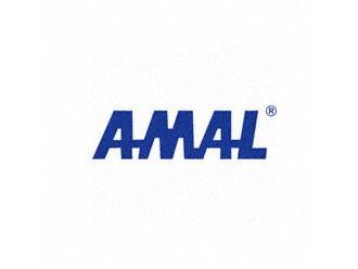 Klebefolie AMAL-LOGO blau 200mm breit
