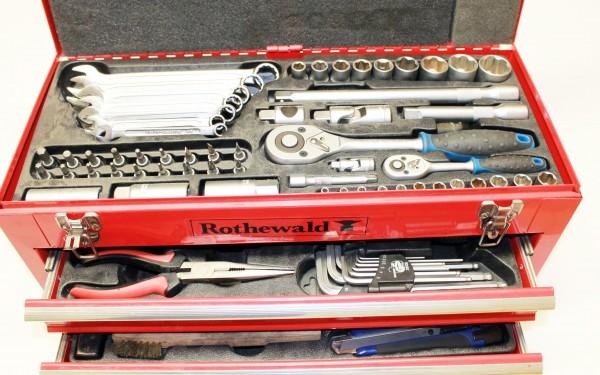 Profi Werkzeugkoffer 201-teilig Rothewald