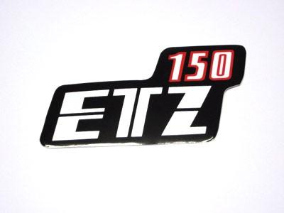 Klebefolie Seitendeckel ETZ 150