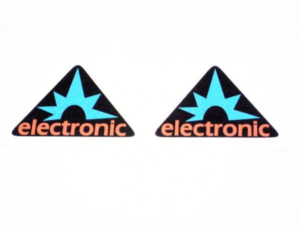 Aufklebersatz S50 Dreieck electronic im Original-Design