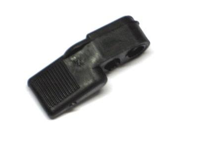 Kaltstarthebel schwarz Plast