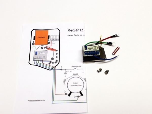 Regler RT125 +F elektronisch